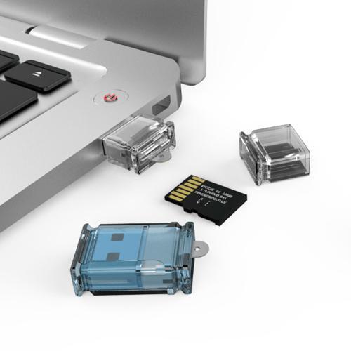 Micro lecteur USB Siyoteam SY-T16 pour carte Micro SD