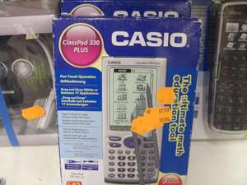 Calculatrices Casio Graph75 à 44,95€ et Casio Classpad 330+