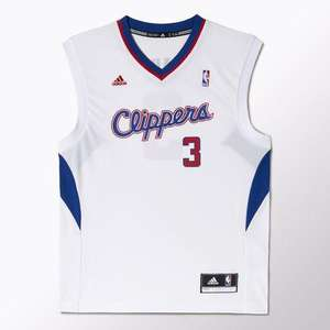 Maillot Adidas NBA Swingman NY Knicks C.Anthony à 34€ ou Replica LA Clippers Chris Paul