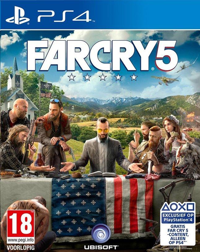 Farc Cry 5 sur PS4 (Frontaliers Belgique)