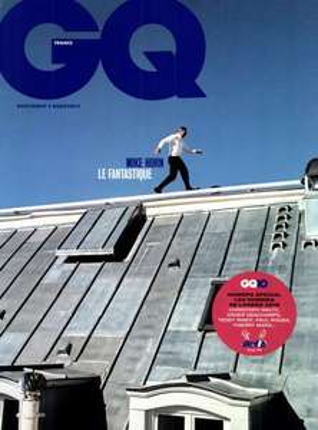 Abonnement au magazine GQ pendant 12 mois (10 numéros)
