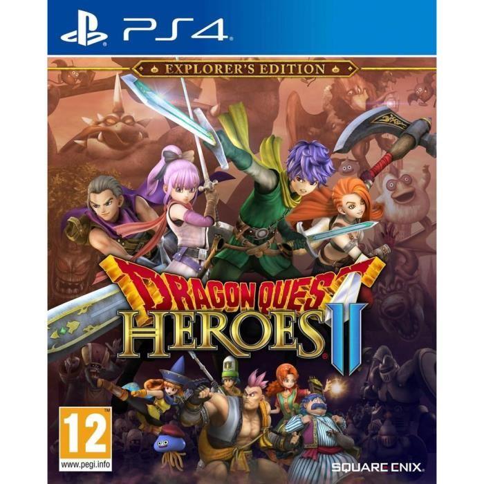 Dragon Quest Heroes 2 Edition Explorateur sur PS4