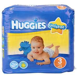 Lot de 138 couches Huggies