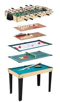 Table Multijeux10 en 1