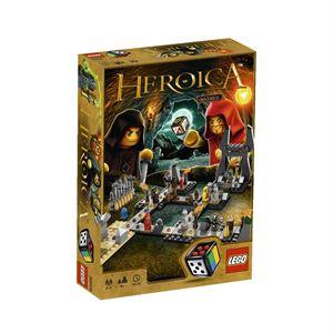Jeu de société LEGO® Heroica Nathuz - Les Grottes Maudites