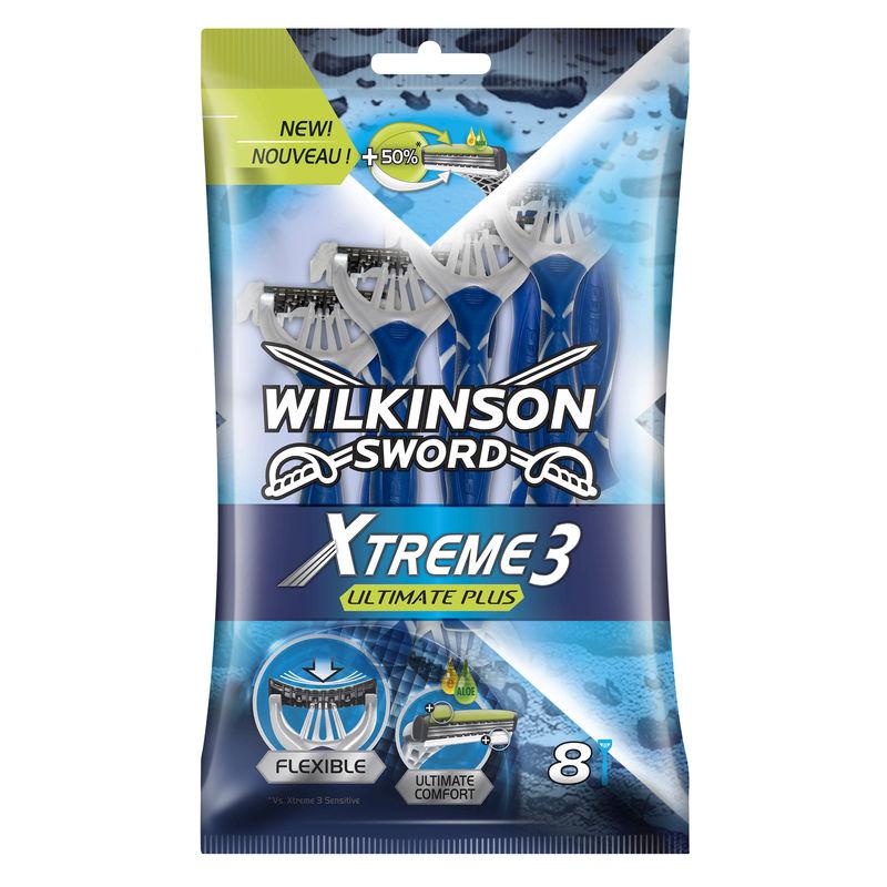 Pack de 8 Rasoirs Wilkinson - Xtreme 3 Ultimate Plus - Géant Casino Châlon-Sur-Sâone (71)