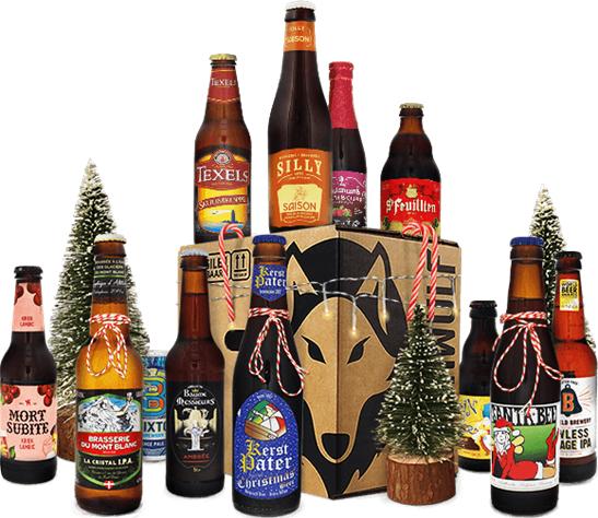 Pack Coffret Noël 12 bières