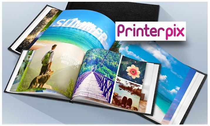 Livre photo au format A5, 20 pages couverture cuir