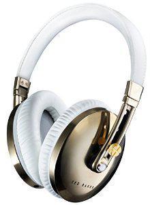 Casque Audio Pliable Ted Baker - London Rockall - Blanc/Or