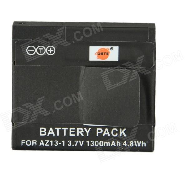 Batterie de remplacement xiaomi yi 1300 mah au lieu de 1010 mah