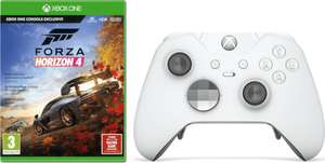 Manette Sans-fil Microsoft Xbox One Elite + Forza Horizon 4 (Frontaliers Suisse)