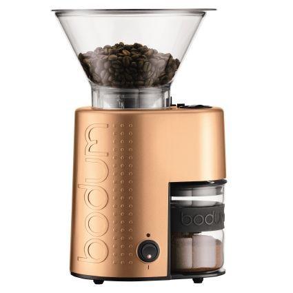 Broyeur à café électrique Bodum Bistro - Finition Métal Cuivré
