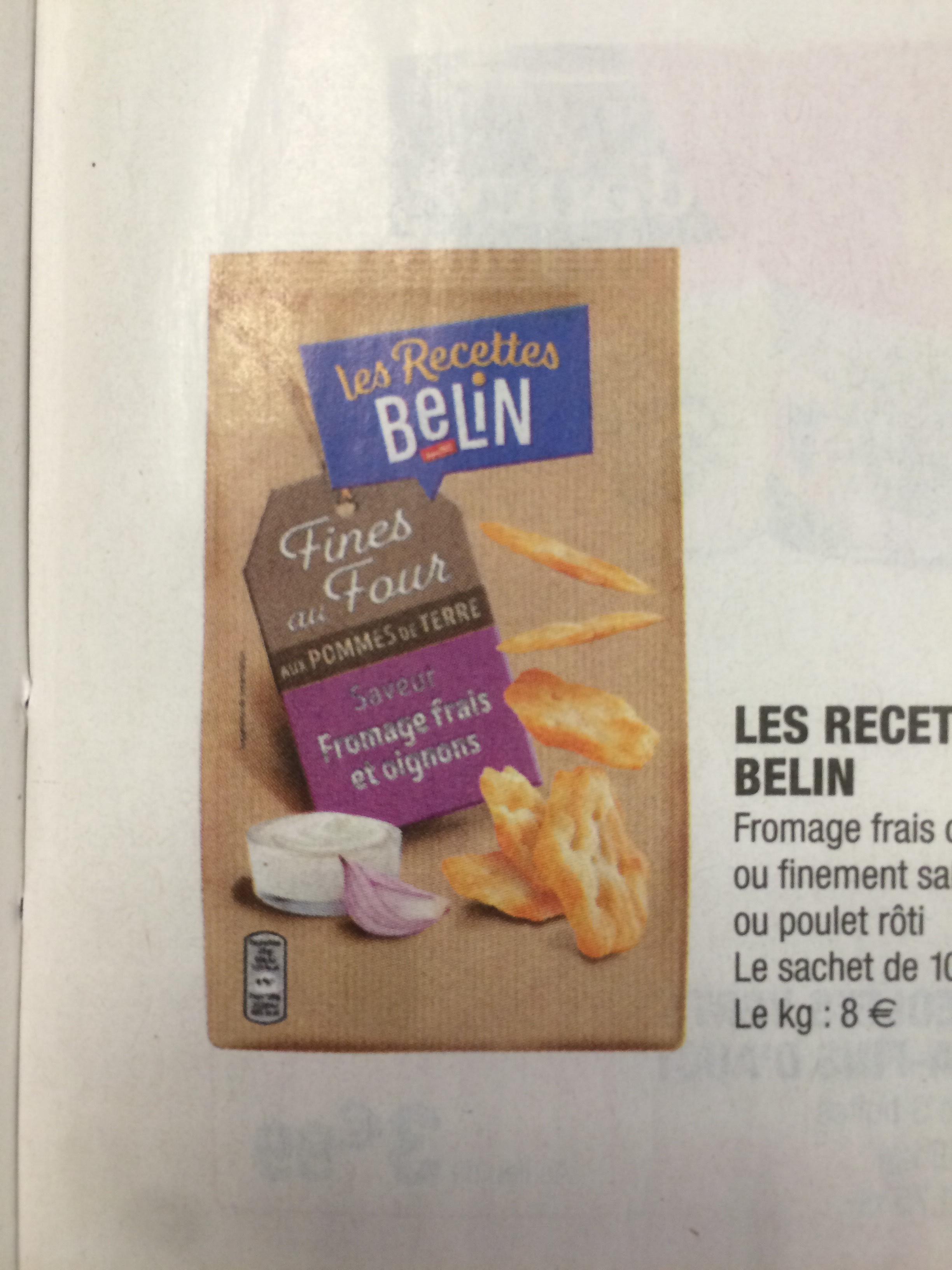 Les recettes Belin (Via BDR + ODR)