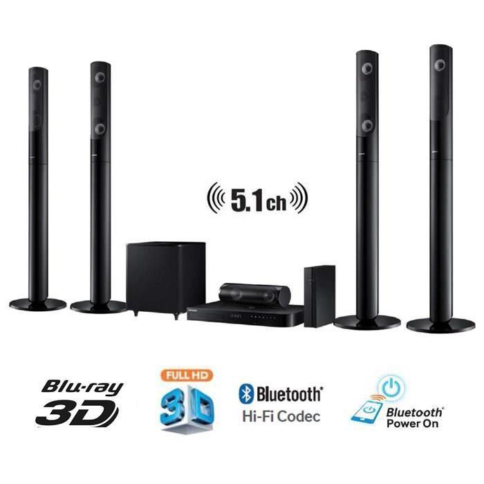 Home-cinéma 5.1 Samsung HT-J5550W - 1000W, Blu-ray 3D