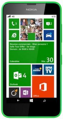 Smartphone Nokia Lumia 635 Vert (via ODR 50€ + 25€ d'application)