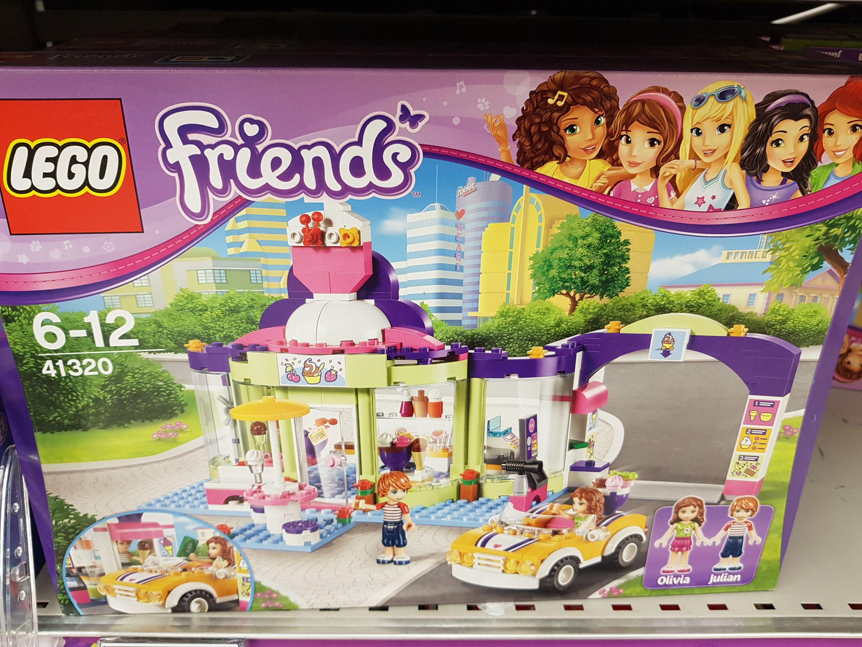 Sélection de jouets à 50% remis fidélité - Ex : Lego friends magasin de yaourts (via 19,95€ sur la carte fidélité) - Carré sénart (77)