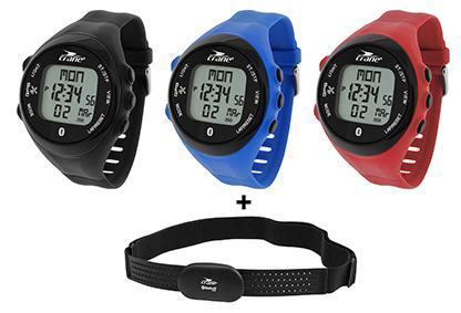 Montre GPS Bluetooth Cardiofréquencemètre Crane