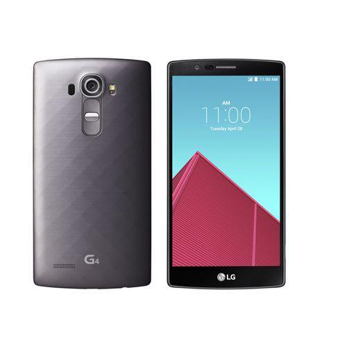 "Smartphone 5.5"" LG G4 32 Go titane"