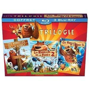 Les Rebelles de la forêt - Trilogie [Blu-ray]