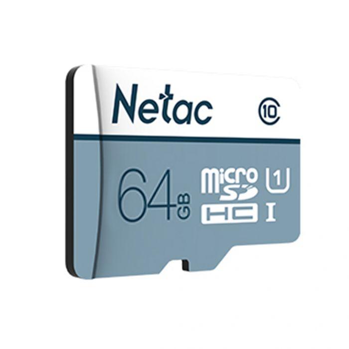 Carte Micro SDXC Netac P500 -  64 Go (via l'Application)