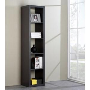 Etagère / Bibliothèque Cubico 5 niches - L185cm - PVC Gris