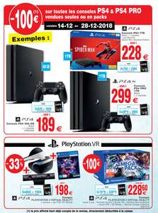 Console Sony PS4 Slim - 500 Go (Frontaliers Luxembourg - Foetz)