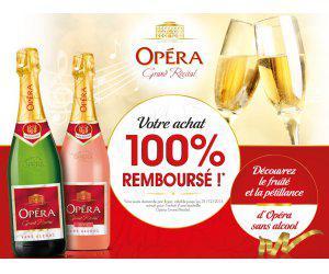 """Bouteille """"Opéra Grand Récital"""" 100% remboursé (via ODR)"""