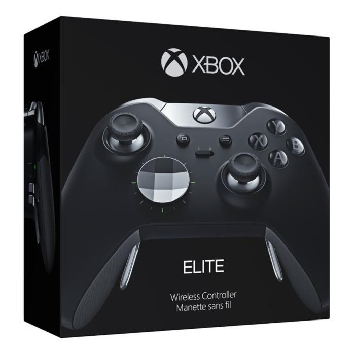 Manette sans-fil Microsoft Xbox One Elite