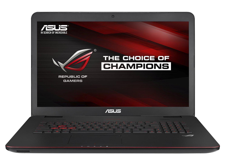 "PC Portable gamer 17,3"" Asus ROG G741JW-T7101H (Intel Core i7, 16 Go RAM, HDD 1 To + SSD 128 Go, GeForce GTX960M)"