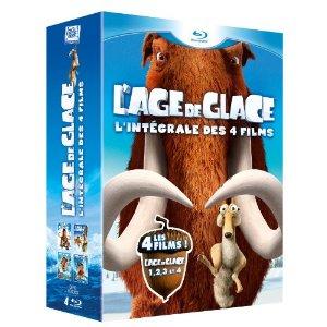 Intégrale Age de glace en DVD à 19.99€ et en Blu-ray