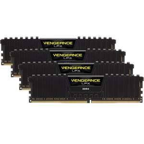 Kit mémoire RAM DDR4 Corsair Vengeance LPX (CMK16GX4M4C3000C16) - 16 Go (4 x 4 Go), 3000 MHz, CAS 16 (159.71€ avec le code SANTA)(