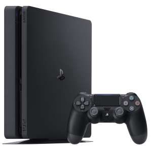 Console Sony PlayStation 4 Slim 500 Go - Noir (Frontaliers Belgique - Mons)