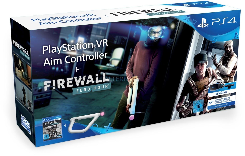 Accessoire manette PS Aim Controller + Firewall: Zero Hour VR sur PS4