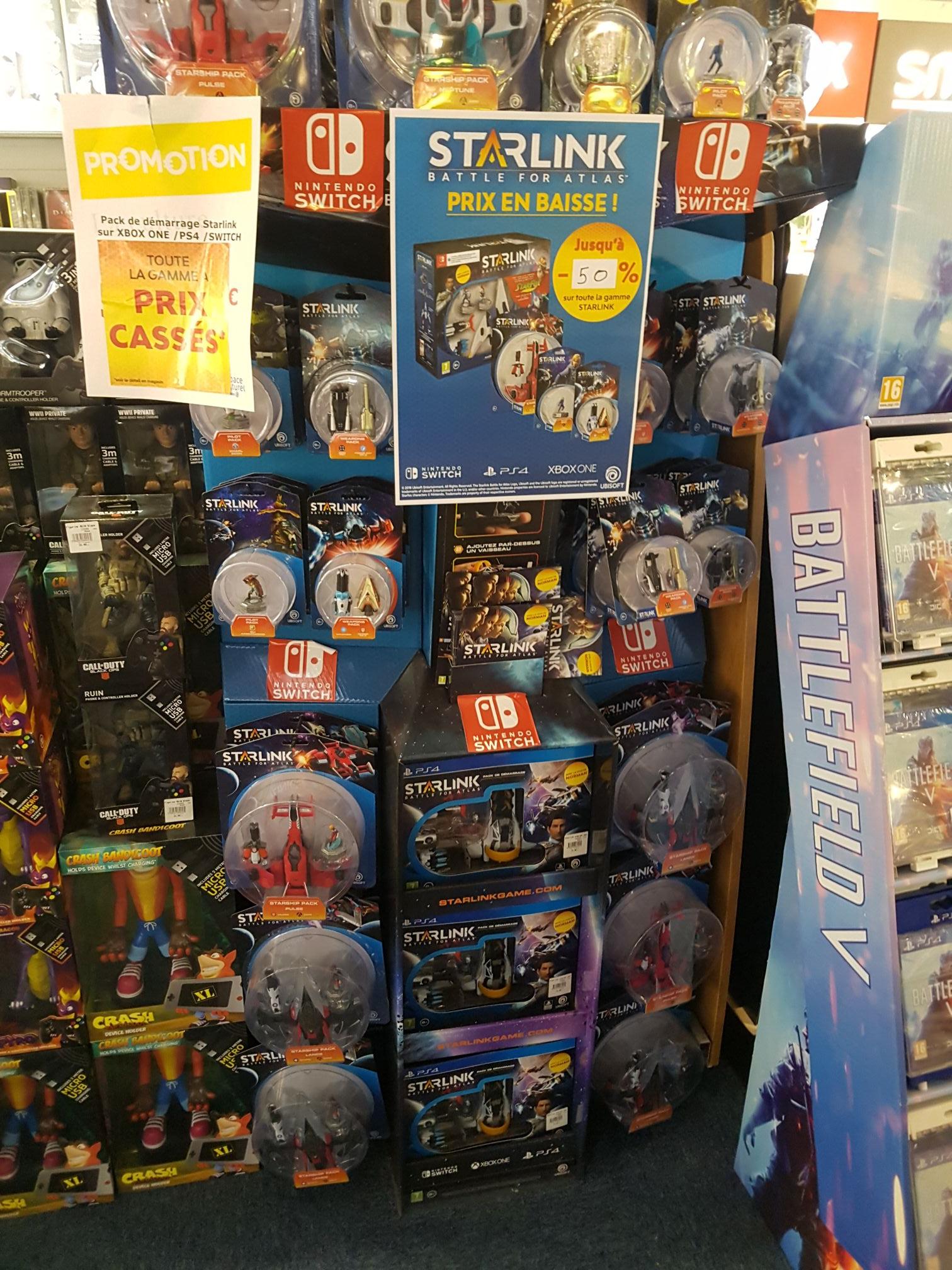 Pack de démarrage Starlink sur PS4 - Moiselles (95)
