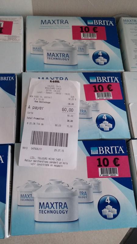 Lot de 12 cartouches Brita Maxtra