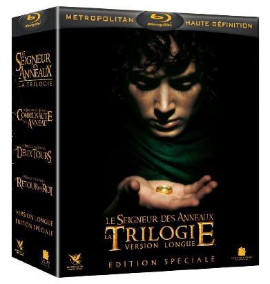 Intégrale Seigneur des anneaux 6 Blu-rays + 9 DVD (Version longue)