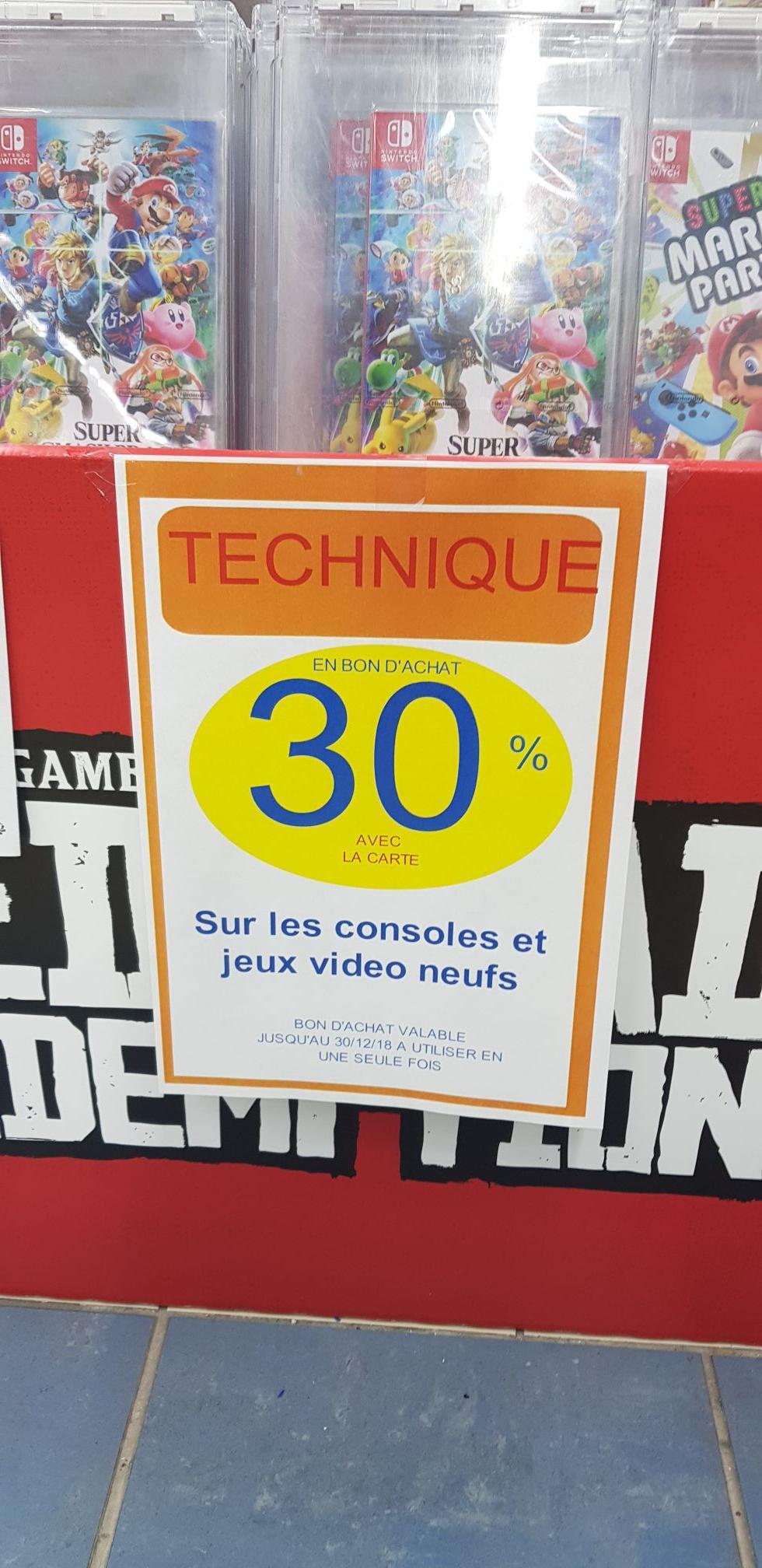 Console Nintendo Switch - avec paire de Joy-Con bleu/rouge ou gris (via 87.75€ en bon d'achat + 5€ en fidélité) - Héricourt (70)