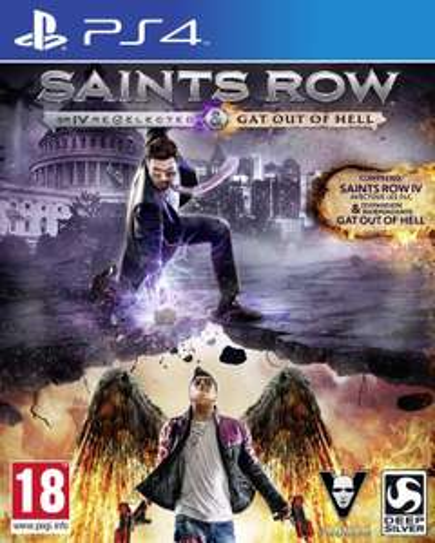 Jeu Saints Row IV : Gat out of Hell + édition re-elected - édition première sur Playstation 4
