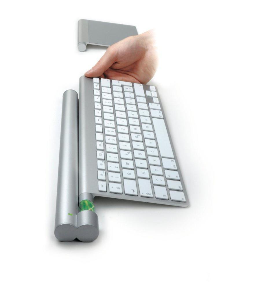 Bar de chargement pour clavier et souris Apple