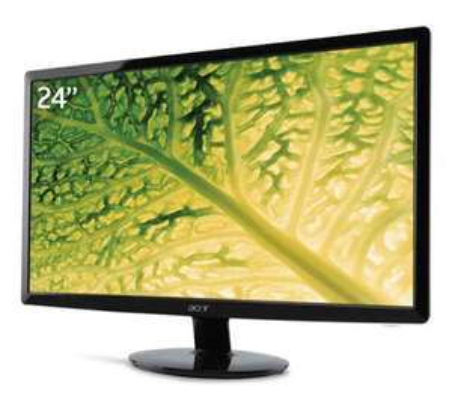 "Ecran PC 24"" Acer S241HLBBID - Full HD, 2ms, DVI & HDMI"
