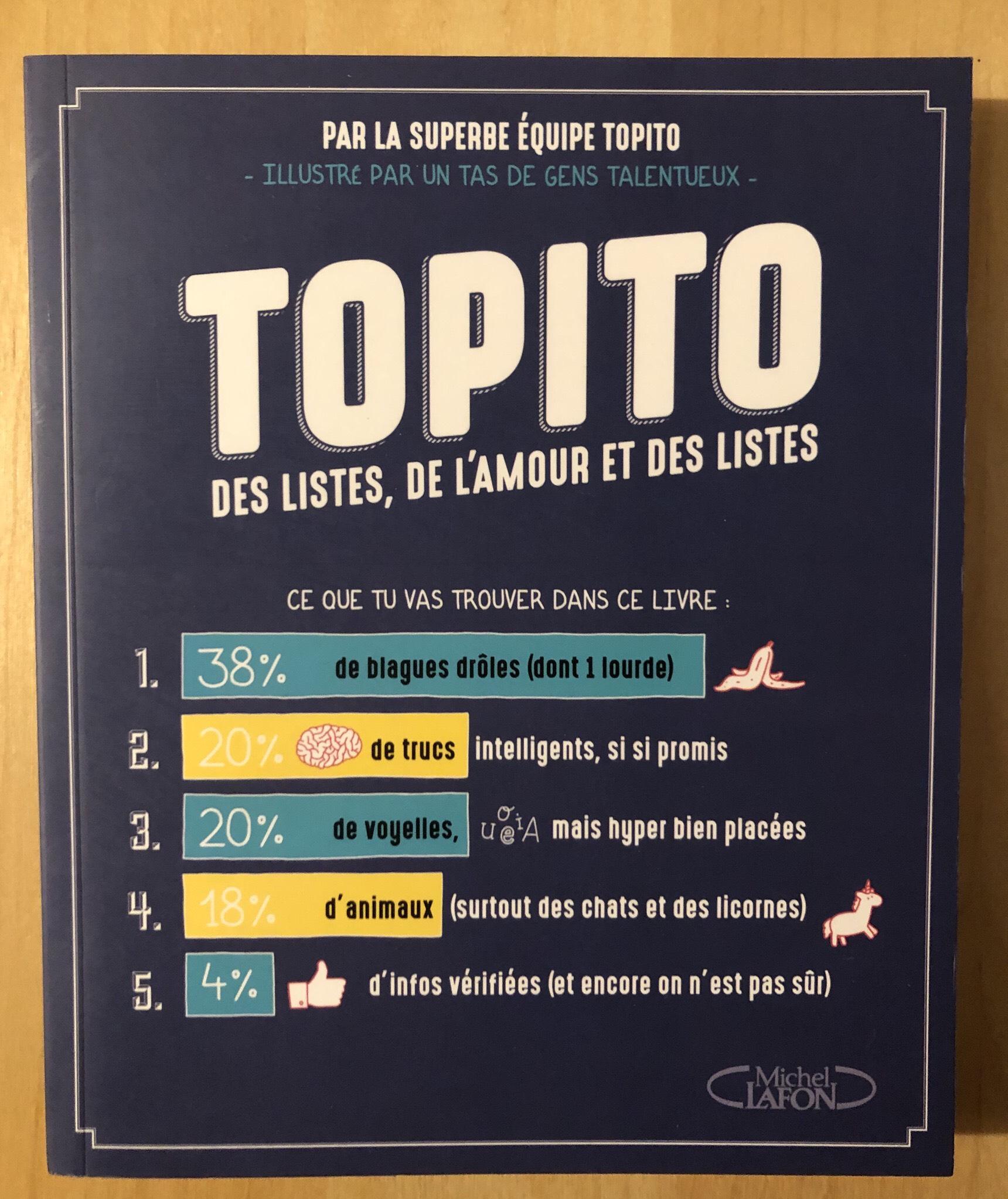 Livre Topito - Vandœuvre-lès-Nancy (54)