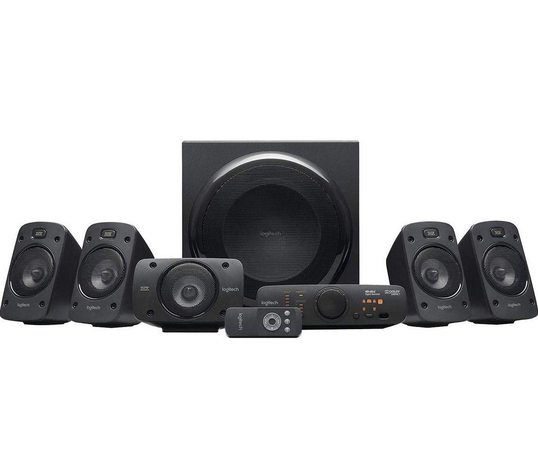 Kit d'Enceintes Logitech Z906 - Dolby Surround 5.1, THX, 1000W