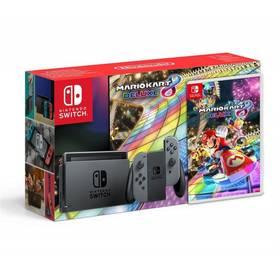 Pack Console Nintendo Switch Mario kart 8 Deluxe (jeu code téléchargement) (via 65,99 en bon d'achat et 30 € fidélité) - Cora Ermont (95)