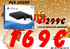 Console Playstation 4 (PS4) 500go - Moulins (03)