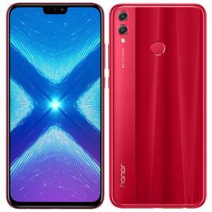 "Smartphone 6,5"" Honor 8X - 128Go ROM, 4Go RAM, Rouge"
