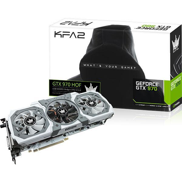 Carte graphique KFA2 GeForce GTX 970 HOF 4Go