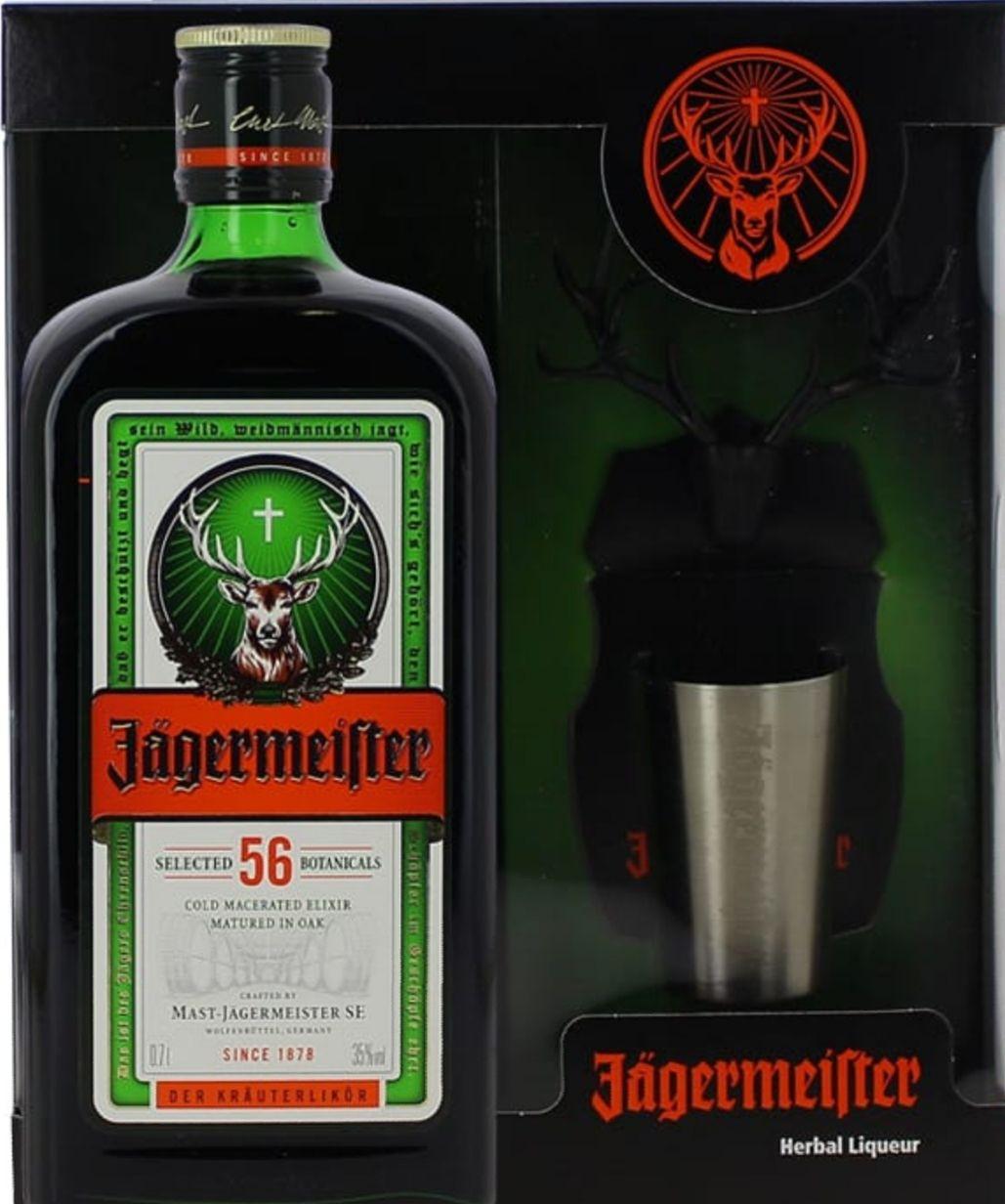 Coffret Jagermeister 70cl + shot + magnet
