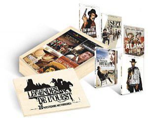 Coffret DVD -  Légendes de l'Ouest - 20 Westerns mythiques Édition Limitée