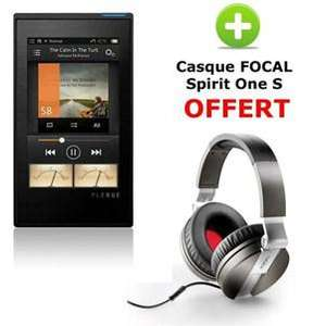 Baladeur audiophile Cowon Plenue 128Go + Casque Focal Spirit One S Offert