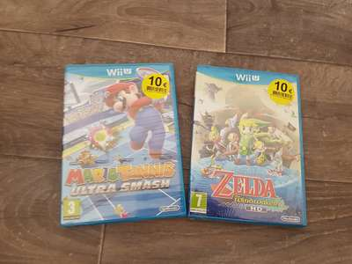 Sélectin de jeux Wii U à 10€ - Super U Ecouen (95)
